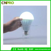 5W / 7W / 9W / 12W nachladbare Not-LED-Birnen-Licht