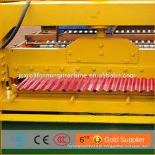 Chapa de aço leve galvanizada telha de telha laminada a frio ondulada fazendo máquinas de formação de rolos