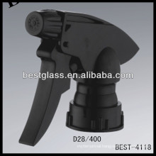 28/410 colored plastic adjustable trigger sprayers with cap , cosmetic bottles sprayer triggers, perfume pump sprayer