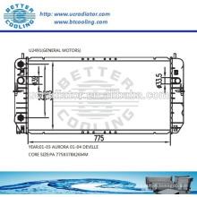 Radiador de agua para General Motors DeVille 01-04 OEM: 52480470