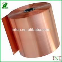 Tira de cobre pura elétrica