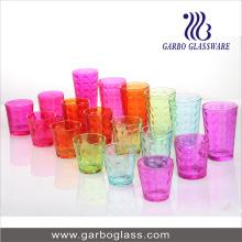 Ensemble de verre à eau colorée 18PCS (GB27009YD-P)