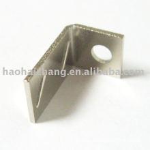 Custom Soldering Nickel Plating Metal L Shape Cable Terminals