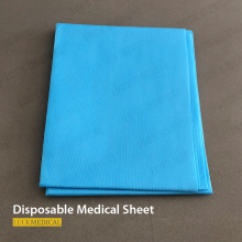 Drap de lit jetable à usage médical