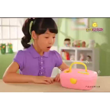 DWI New shantou pretend toys chicken house suitcase china import toys