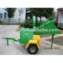 Wood Chipper PTO(attached with tractor)and self-powered