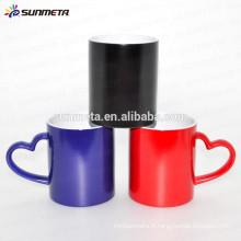 Tasse magique changeant de couleur, tasse de sublimation en gros