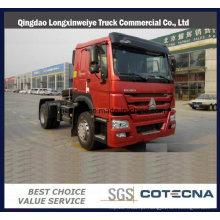 Caminhão da cabeça do trator de 420HP HOWO 4X2