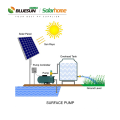 Bluesun pump submersible dc 10hp 15hp 20hp  solar submersible water pump with submersible solar water pump