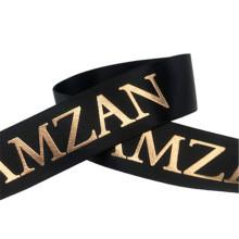 Wholesale OEM Wrapping Ribbon Polyesyer Satin Ribbon printed satin ribbon accept customized