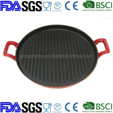 Vegetable Oil Nonstick Cast Iron /Grill Pan/Griddle Pan/Frypan/Bakeware /Grill BSCI LFGB FDA Approved