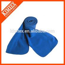 Оптовый синий полиэфирный шарф 100