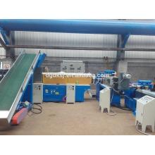 PE PP Film Three Stage Plastic Recycling Pelletizer Granulator Machine