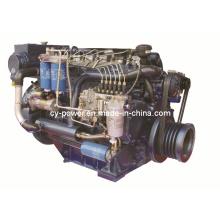 Судовой двигатель серии Wp6, 145-185 кВт, Weichai