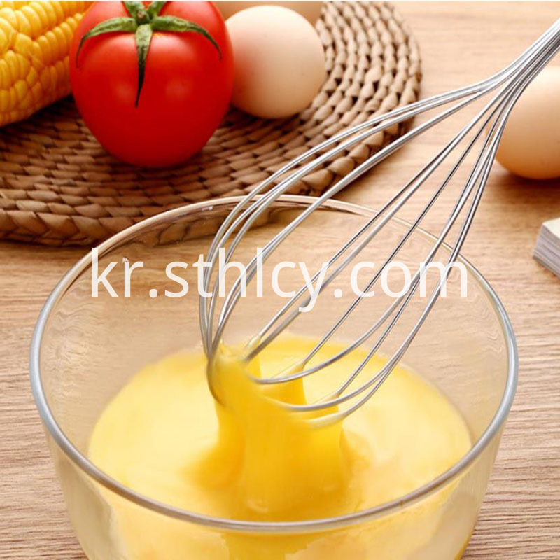 Stainless Steel Household Egg Whisk