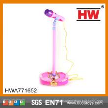 Hot Sale B / O crianças brinquedo microfone instrumentos musicais