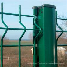 Panel de cerca de malla de alambre soldado curvado 3D de alta calidad