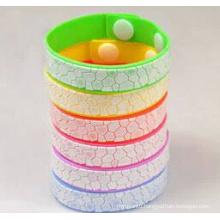 Silicone Anti Mosquito Bracelet Wristband Mosquito Repellent Band