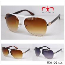 Klassische Art und heiße Verkaufs-Metall-Sonnenbrille (MI214)