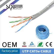 SIPU Low price fluke test lszh cat5e utp cable 4p 26awg network cable factory price