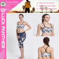 Customized Printed Cheerleading Supportive Padded Sports Bra