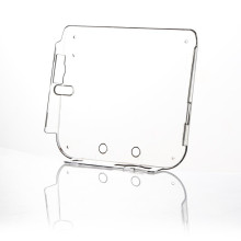 Hard Plastic Clear Crystal Gamepad Protective Skin Cover Case For Nintendo For 2DS