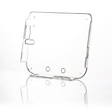 Hard Plastic Clear Crystal Gamepad Capa protetora de pele para Nintendo para 2DS