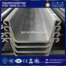 Estacas de chapa de aço padrão europeu SY295