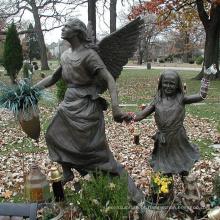 Fundição de bronze fundição de metal ofício bronze Erica's Angel Bronze Statue