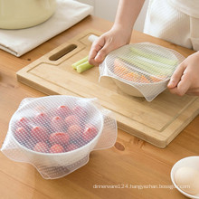Eco-friendly reusable silicone cling film keeping food fresh