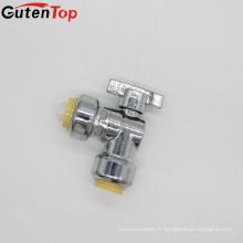 Les soupapes d'angle en laiton NSF de haute qualité de GutenTop mènent des produits de plomberie sans plomb