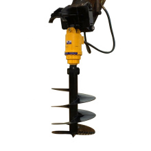 Excavator Parts Mounted Auger Digging Hole Tools