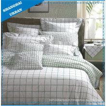 Stripe algodão cama edredão capa