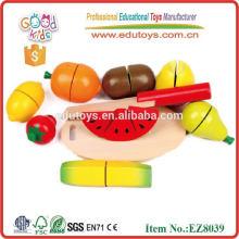 Fruits et légumes en bois