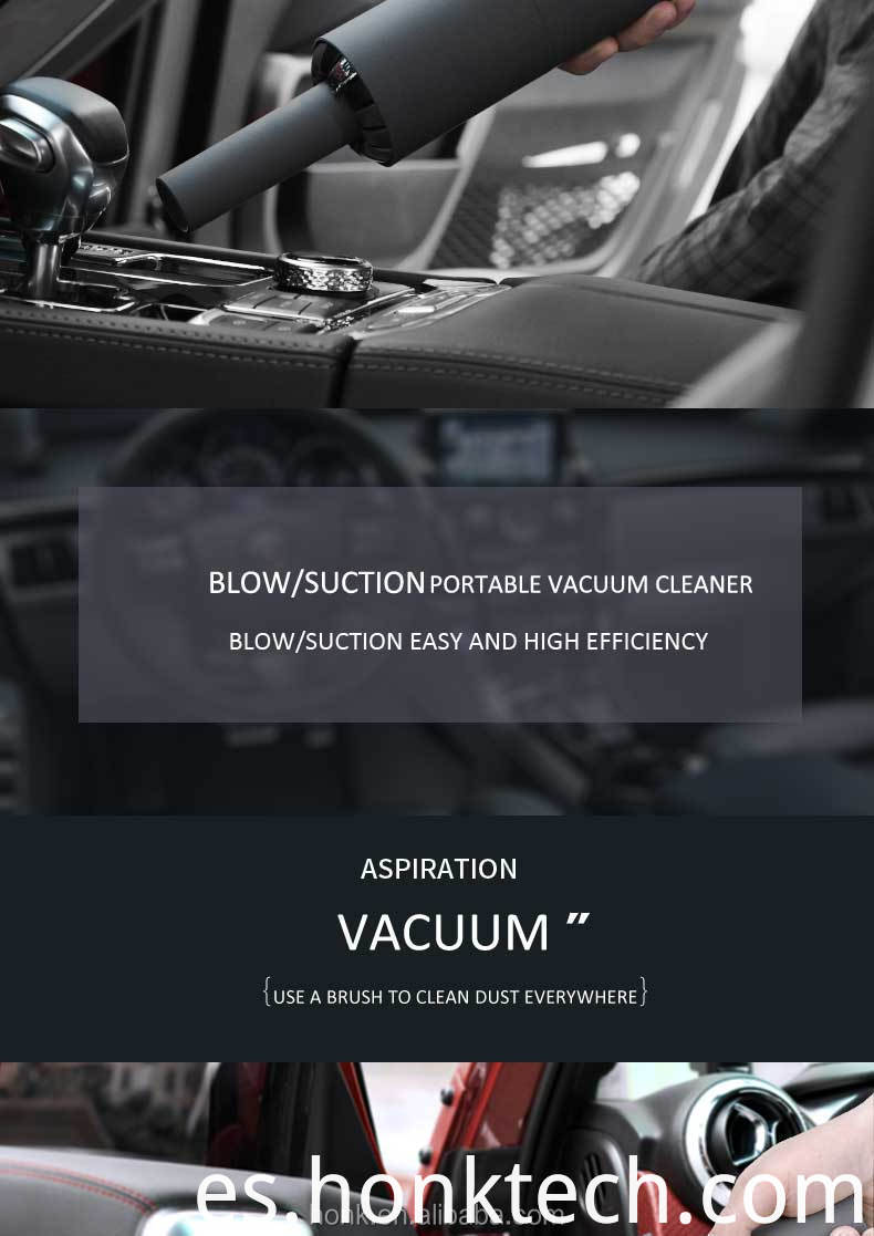 wireless handheld vacuum cleaner car sofa bed dust blower USB Charging cordless use strong power suction Mini vacuum cleaner