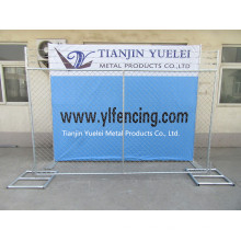 Chain Link Temporary Fence Iron Fence/Australia Standard Galvanized Welded Wire Mesh Temporary Fence