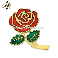 2018 Wholesales romantic rose for love souvenir metal badges
