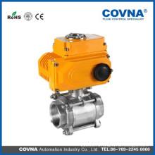 Электрический клапан с 3 шт. Нержавеющая сталь для HVAC, система сжатия воздуха