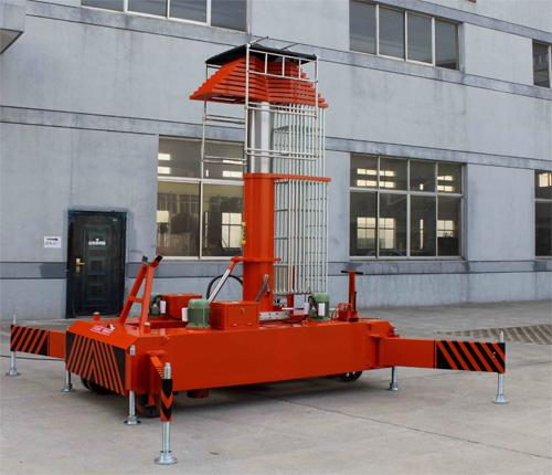 Telescopic Cylindrical Tilt Back Lift
