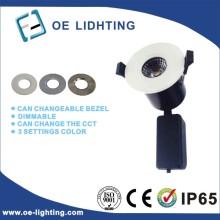 Calidad certificación 8W COB LED Downlight