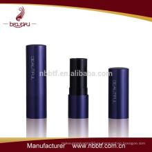 Contenedor de palo de labios de aluminio