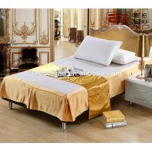Atacado popular hotel cama saia equipada cama saia cama contornando