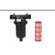 Linha de filtro de tela 120mesh T macho para irrigação