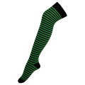 Girl's Stocking Green Strips