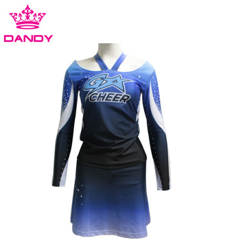Billiga sublimerade cheerleader outfits