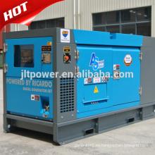 Generador diesel trifásico refrigerado por agua de AC de la serie 25kva
