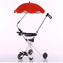 Poussette de bébé facile pliant le parapluie de voiture de sport de Buggiest chariot léger