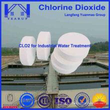 Tablette de dioxyde de chlore à échantillon gratuit pour traitement des eaux usées