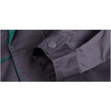 Tecido geral de sarja de algodão poliéster cinza escuro