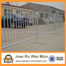 used pvc coated crowd control barrier